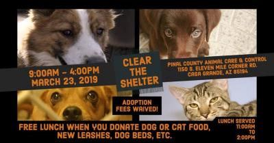 Clear the Shelter Event