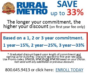 Save big with Rural Metro