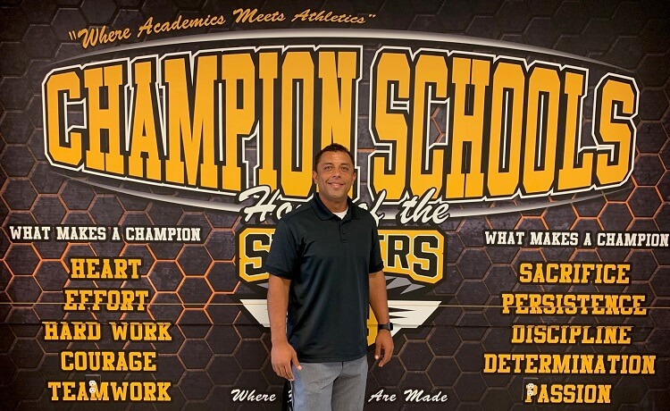 San Tan Valley Champion School Welcomes New Athletic Director for 2020 School Year