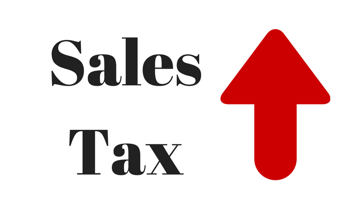 Sales Tax to be charged on out of state purchases starting October 1, 2019