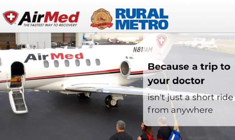 Rural Metro Announces AirMed Benefit for Subscribers
