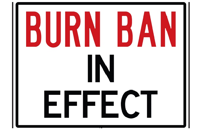 Open Burning Ban Begins May 1st